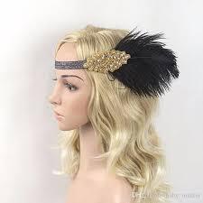 1920 hair accessories hair accessories black rhinestone beaded sequin hair band 1920s