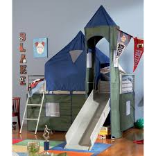 Childrens Bunk Bed With Slide Childrens Bunk Beds With Slide In Best Bedroom With Image Boy Bunk