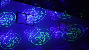 christmas and halloween house laser lights youtube