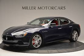maserati sedan black 2017 maserati ghibli s q4 stock m1691 for sale near westport ct