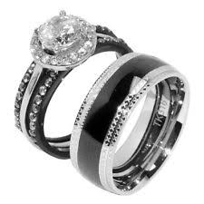 wedding rings for couples matching wedding ring sets ebay