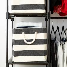 Closet Storage Bins by Top Pinned The Container Store