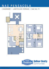 nas pensacola u2013 lighthouse terrace neighborhood 4 bedroom
