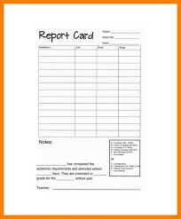 report card format template report card template absolute vision format 1 permalink marevinho