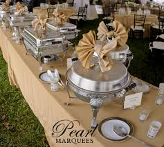 how to set a buffet table with chafing dishes good idea for chafing dish plus it makes them look pretty and non