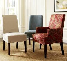 Slipcover For Dining Room Chairs Marvelous Dining Room Chair Covers Arms Ideas Wonderful Dining