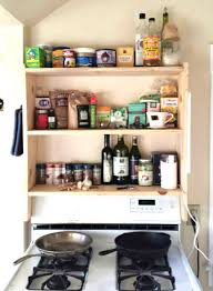 cing kitchen ideas diy above stove shelf cooker shelving and shelving