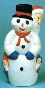 Snowman Lawn Decorations Where To Buy Blow Mold Yard Decorations