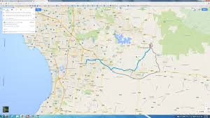 As The Crow Flies Map Solution Distance Between 2 Points Google Maps