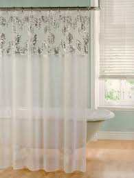 sheer shower curtains fabric curtains design gallery sheer white