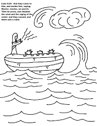 jesus feeds the 5000 coloring page jesus calms the storm coloring page with omeletta me