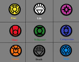 what do color mean all green lantern colors and what they mean by thezero759 on