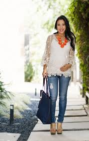 how to look stylish in your maternity jeans the jeans blog