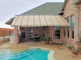 Retractable Awning With Screen Retractable Awnings Dallas Retractable Solar Screens Dallas
