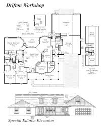Workshop Floor Plan by The Drifton Curington Homes