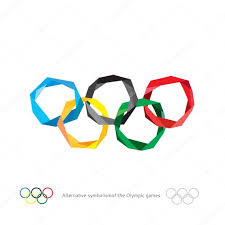 Olimpics Flag Free Olympic Flag Clipart Clipground