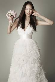 feather wedding dress 2 dresses in 1 wedding dress with detachable ostrich feather