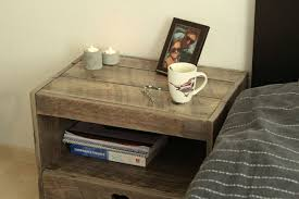 pallet nightstand 13 steps with pictures