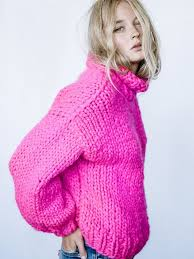 best 25 pink sweater ideas on neon scarf sweater