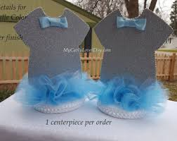 boy baby shower centerpieces centerpiece baby tuxedo centerpiece boy baby shower