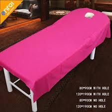 massage table with hole beauty salon spa massage bed sheet 80x190 120x190cm cottonwaterproof
