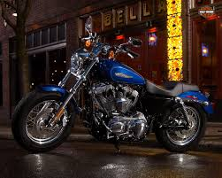 this is the 2015 harley davidson sportster 1200 custom autoevolution