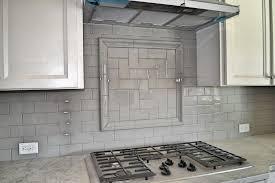 gray backsplash kitchen white and gray kitchen backsplash home design ideas gray