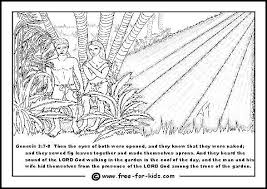 70 adam eve coloring pages free coloring