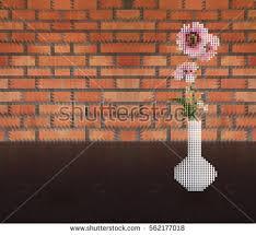 Pink Brick Wall Vector Pink Grunge Brick Wall Texture Download Free Vector Art