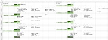 Auto Loan Spreadsheet Frustrated 25 Year Old Looking For Some Help Personalfinance