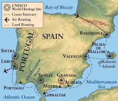 Map Of Seville Spain by Trade Routes Of Coastal Iberia