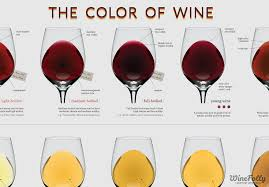 What Is The Color Of A Neon Light The Wine Color Chart Wine Folly