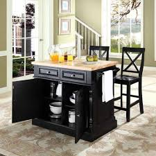 Black Distressed Kitchen Island by Powell Pennfield Kitchen Island Counter Stool Best Decoration