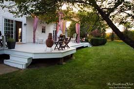 Cheap Backyard Deck Ideas Deck Cover Backyard Deck Ideas Our Deck Makeover Reveal
