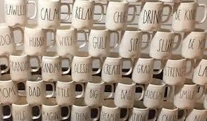 rae dunn rae dunn mugs ll large letter choose your mug 12 00 picclick