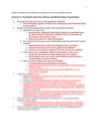 unit 2 study guide for sadock docx commun mental health nursing