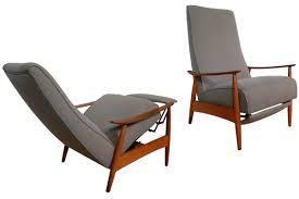 Milo Baughman Recliner Top Milo Baughman Chair For Sale Surripui Net