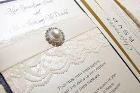 lace wedding invitations with beautiful design registaz com