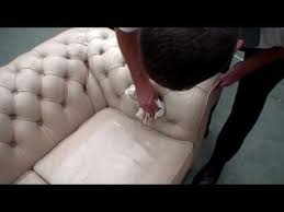 How To Clean A Leather Sofa How To Clean And Condition A Leather Sofa Youtube
