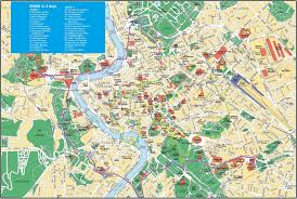 Rome Metro Map by Maps Update 21051489 Map Rome Tourist Attractions U2013 Rome