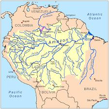 Peru On Map The 10 Longest Rivers In Peru