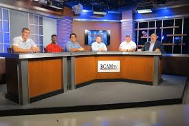 tv studio desk about bcam
