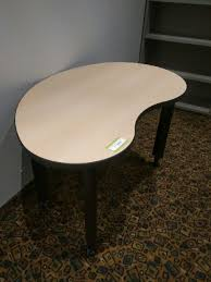 kidney bean shaped table used kidney bean shaped table alternate choice inc