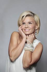in pictures kerry katona southport visiter