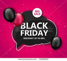 black friday sale shopping poster seasonal stock vector 732585607