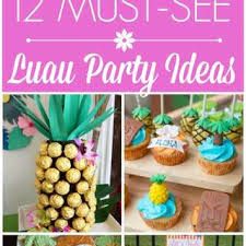 hawaiian party ideas luau hawaiian party ideas for a girl birthday catch my party