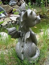 baby figure gargoyle garden ornament statue outdoor
