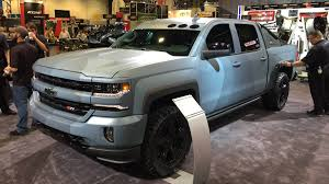 chevy concept truck chevrolet silverado special ops edition at the 2015 sema show