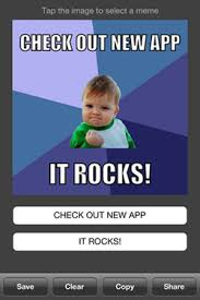 Meme Maker With Own Photo - make your own meme 20 meme making iphone apps meme maker and meme