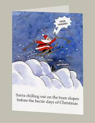 humorous christmas cards humorous christmas greetings cards original by peteruttonart